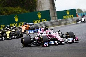 Renault tekent wederom protest aan tegen Racing Point-bolides