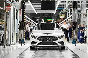 Április közepéig meghosszabbították a kecskeméti Mercedes-gyár bezárását