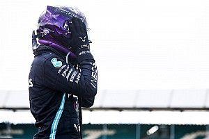 Победный круг Хэмилтона в Гран При Великобритании на трех колесах. Видео
