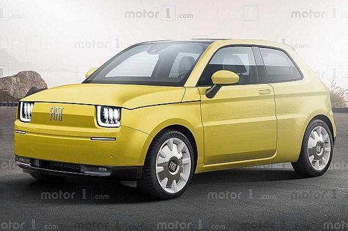 Fiat 126 Electric retro dokunuşlarla hayal edildi!