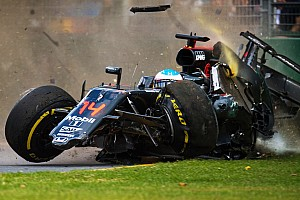 C'était un 20 mars : le terrible crash d'Alonso à Melbourne