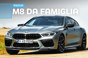 BMW M8 Gran Coupé Competition, quattro porte di puro divertimento