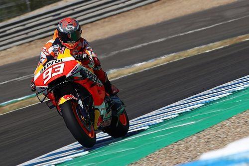 MotoGP, Jerez, Libere 1: Marquez al top, Rossi solo 13esimo