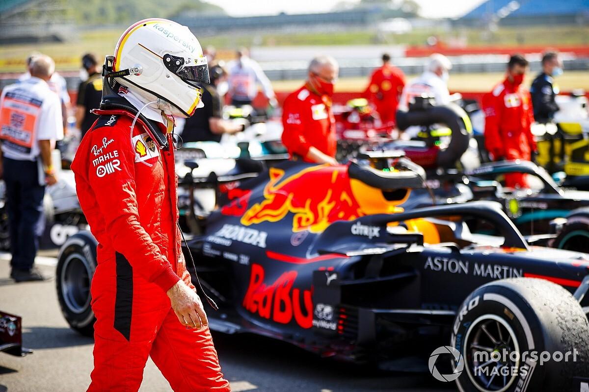 "Vettel: Ferrari strategy ""didn't make any sense"""