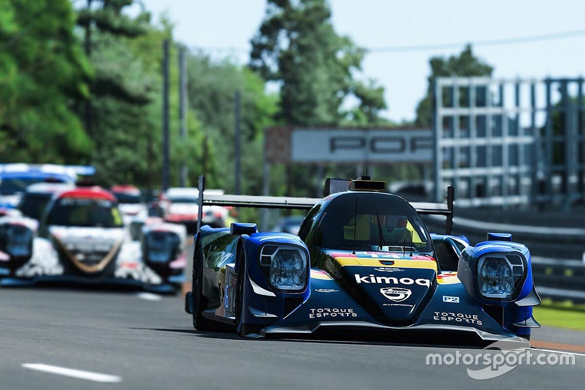 Virtual Le Mans: Fernando Alonso fermo senza benzina