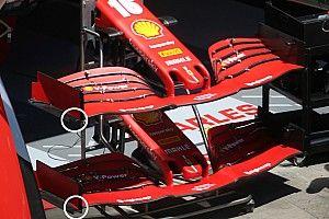 Tech: Eerste blik op nieuwe voorvleugel Ferrari