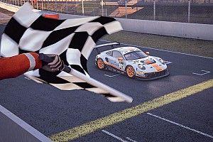 Deletraz gana el campeonato SRO Esports tras un accidente
