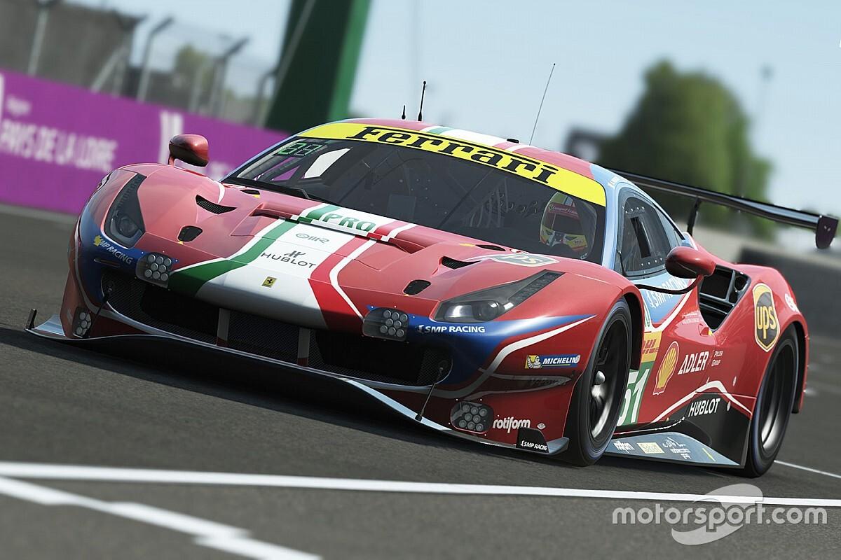 Światowe zespoły w wirtualnym Le Mans