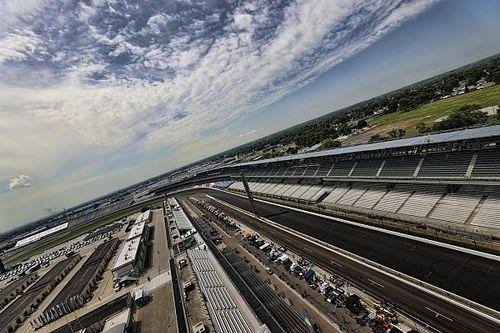 De startopstelling voor de 104de Indianapolis 500