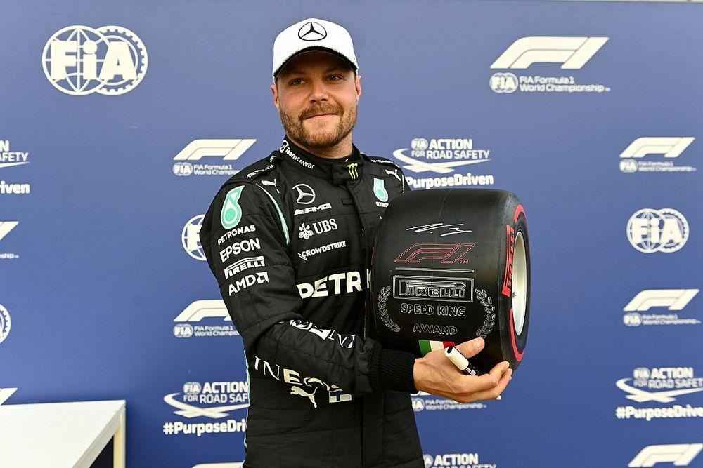 "Bottas fulmine a Monza: ""Ora sono sereno"". Ma Hamilton sorride"