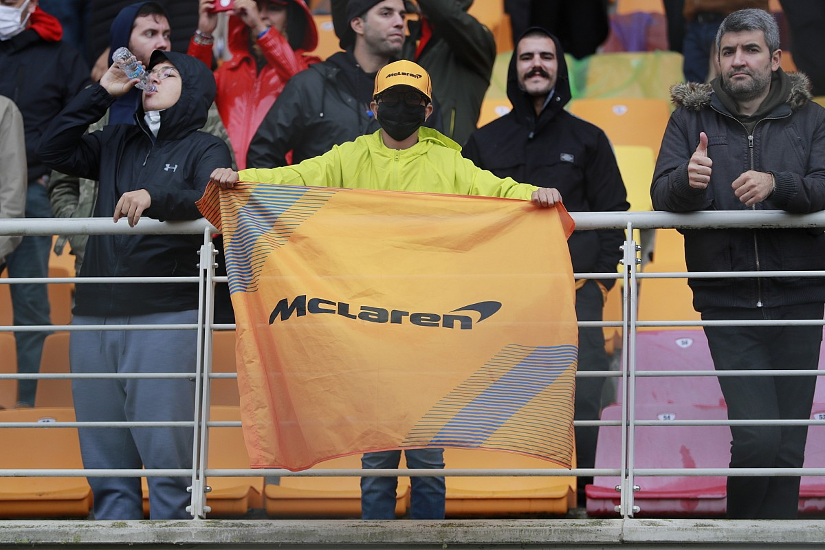 """Thumb for article title Brown: """"Very flattering"""" for McLaren to top F1 global fan survey"""
