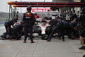 Na twee races klokt Red Bull in Turkije weer snelste pitstop