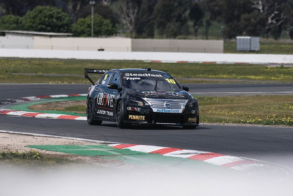 Payne cuts first Supercars laps