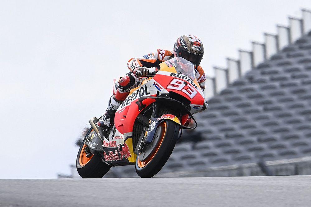 Americas MotoGP: Marquez leads Miller in second practice