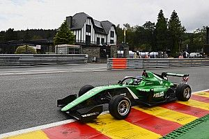 Spa W Series: Chadwick takes pole after horrific Eau Rouge crash