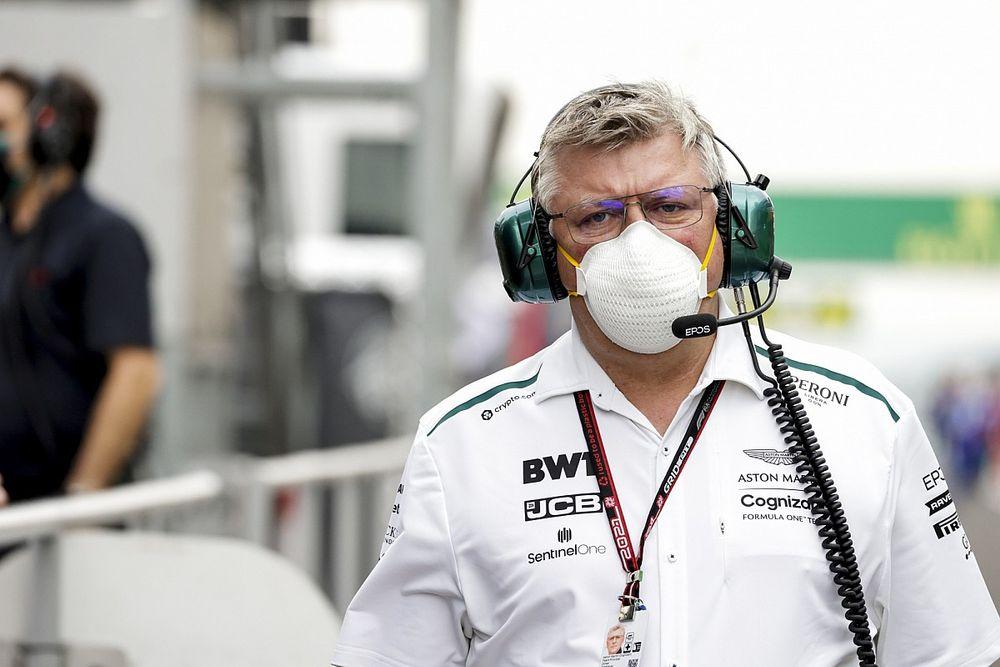 Szafnauer: La llegada de Whitmarsh no cambia mi rol en Aston Martin