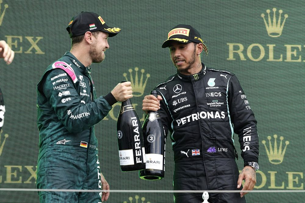 """Hamilton """"proud"""" of Vettel for making stand with 'Same Love' t-shirt"""