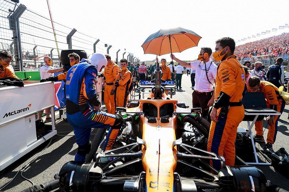 """Ricciardo """"stresszes"""" rajtja a Holland Nagydíjon"""