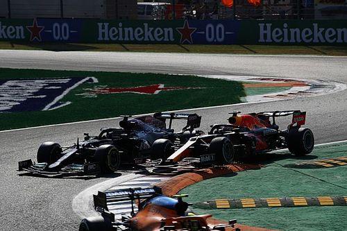 Verstappen asegura que Hamilton no le dejó espacio