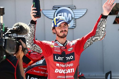 """MotoGP near misses give Bagnaia's first win """"extra sweetness"""""""