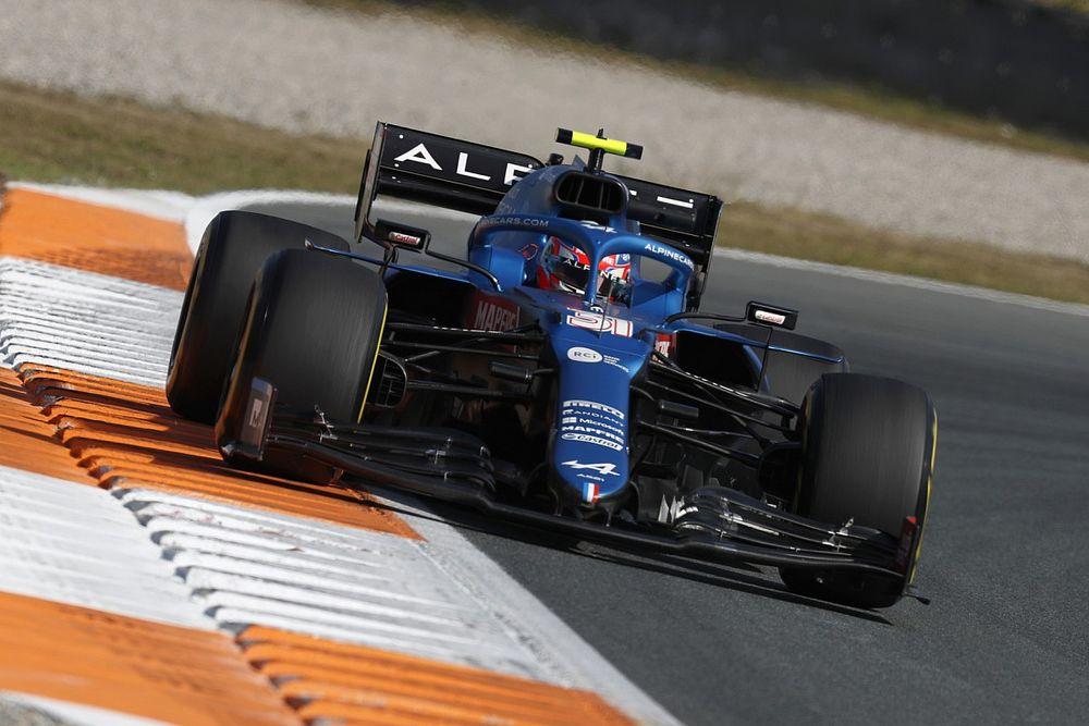 Ocon troisième, Alonso sixième, Alpine prudent