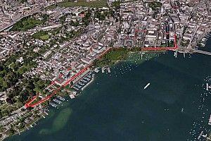 Video: Die Formel-E-Strecke von Zürich