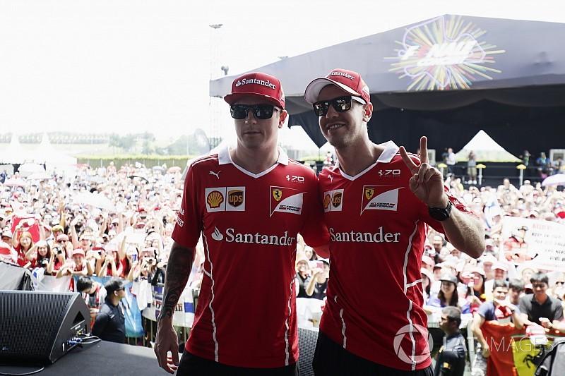 Vettel még sosem győzte le Räikkönent tollaslabdában