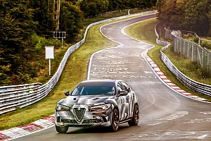 Automotive Nieuws Nieuwe recordhouder op de 'Ring: Alfa Romeo Stelvio Quadrifoglio