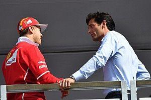 """Webber: parceria com Ferrari """"esgotou"""" Vettel e abalou sua confiança"""