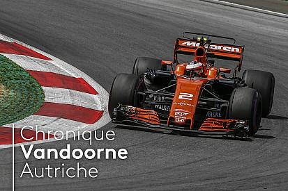 Formule 1 Chronique Vandoorne - McLaren avait le rythme pour le top 10