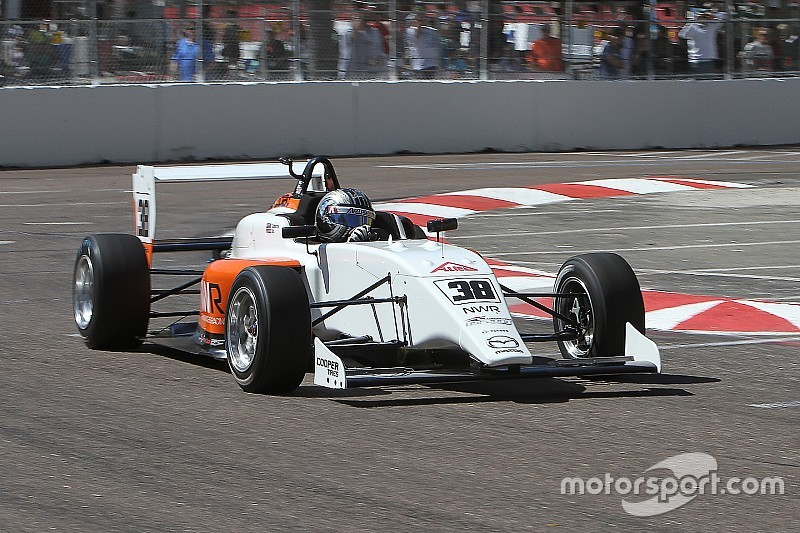 Buddy Lazier's son joins Newman Wachs USF2000 team