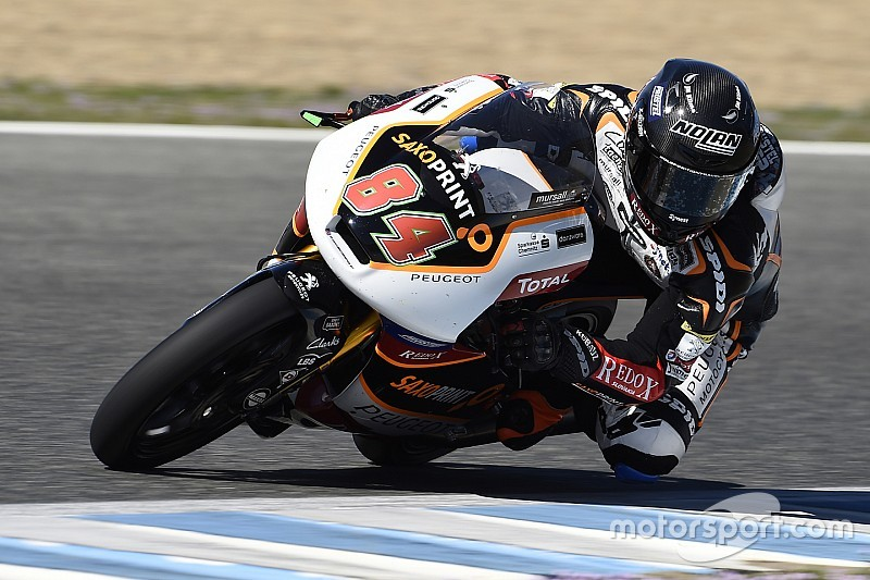 Kornfeil puts Peugeot in Top 3 on final Moto3 test day