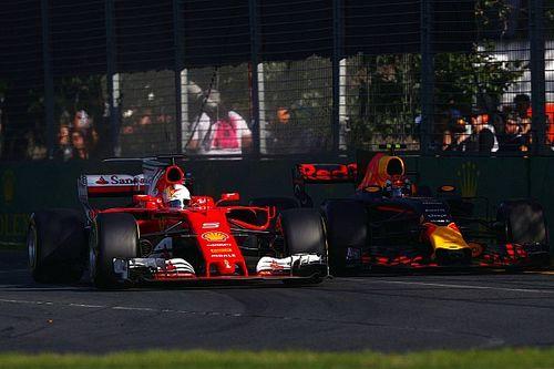 Verstappen verrast over Red Bulls snelheid ten opzichte van Ferrari