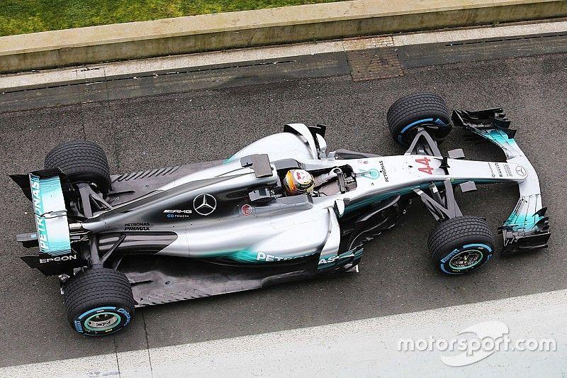 Formel 1 2017: Mercedes präsentiert den neuen W08