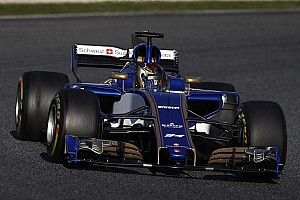 "Wehrlein reports ""no pain"" in first Sauber F1 test"