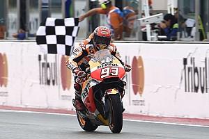 MotoGP Reporte de la carrera Márquez superó a Petrucci en el final para ganar en Misano