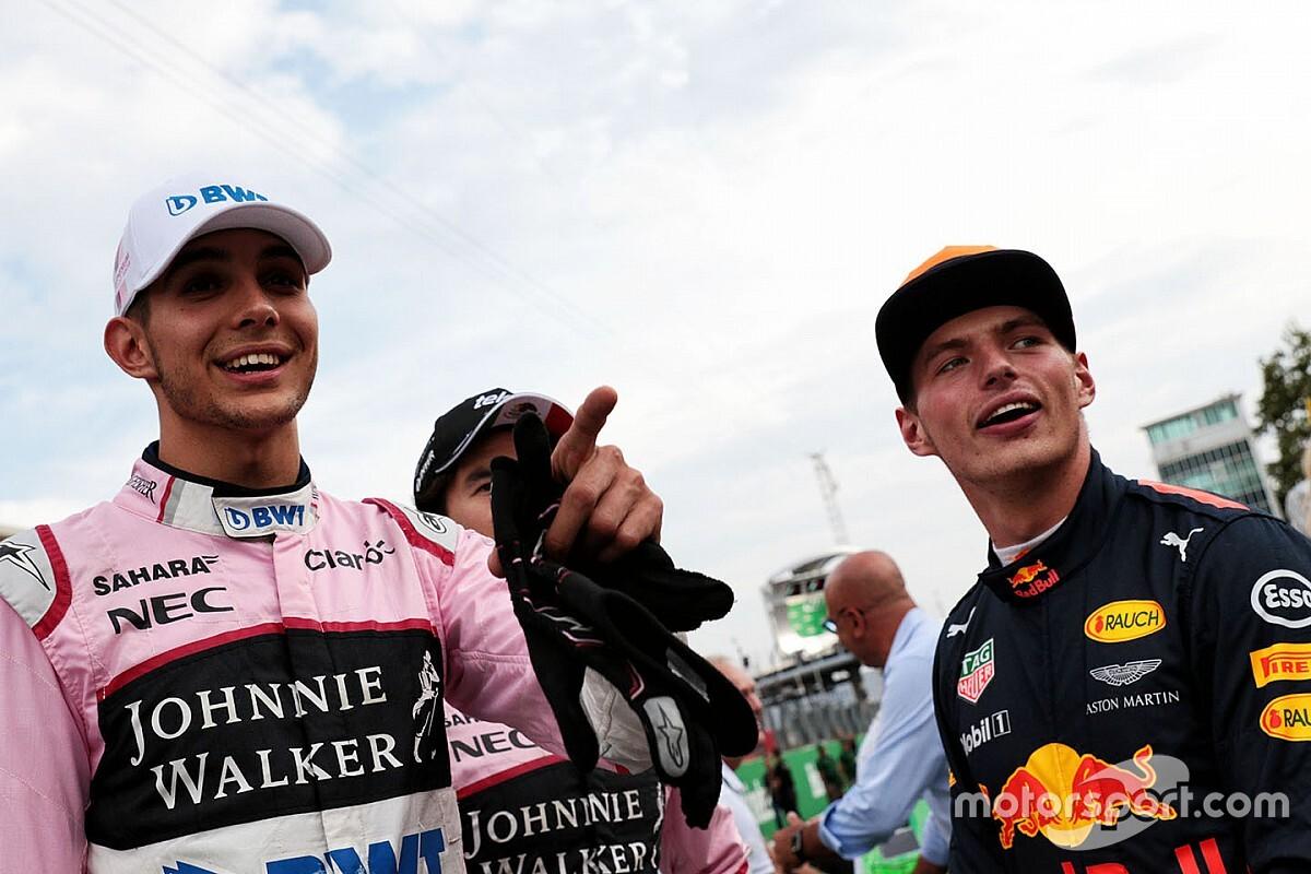 Verstappen et Ocon convoqués par les commissaires après leur clash