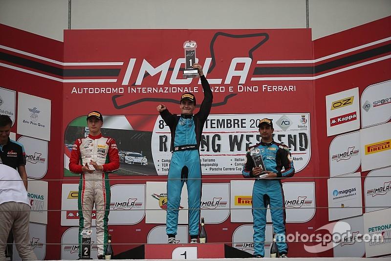 Imola Italian F4: Maini scores maiden podium of 2017