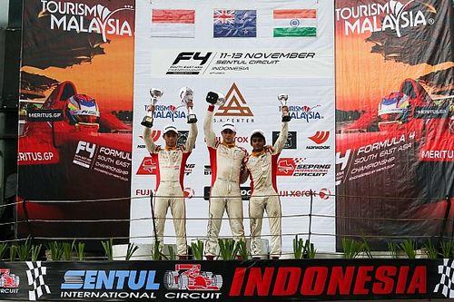 F4/SEA Sentul: Kahia menangi Race 6, Presley Overall Champion