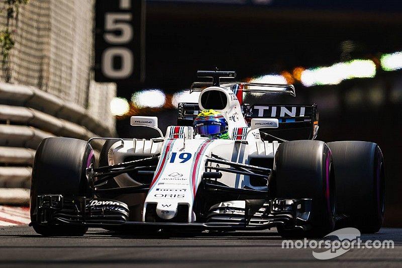 Massa column: Aggressive Perez helped me out in Monaco