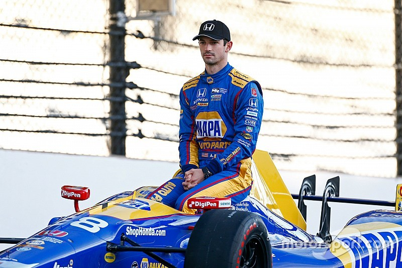 Defending Indy 500 winner Rossi feeling no pressure to repeat
