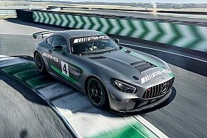 Mercedes onthult nieuwe GT4-wagen