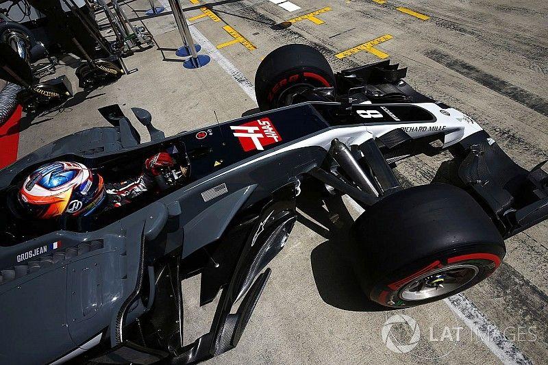 """Grosjean imponeert: """"Dacht even een Red Bull te kunnen pakken"""""""