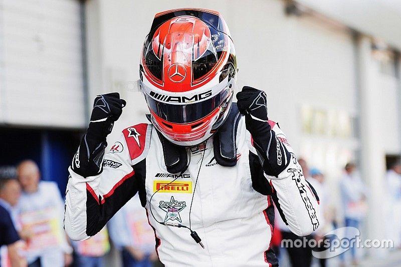 George Russell consigue su primera victoria en la GP3