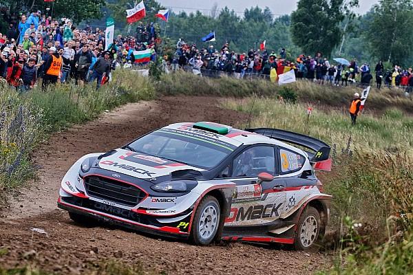 WRC Polen: Evans leidt voor Neuville na Super Special