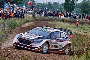 WRC Dagverslag WRC Polen: Evans leidt voor Neuville na Super Special