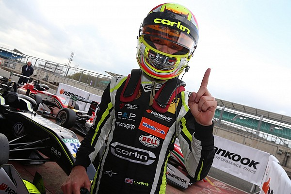 F3 Europe Silverstone F3: Norris dominates hectic race for maiden win