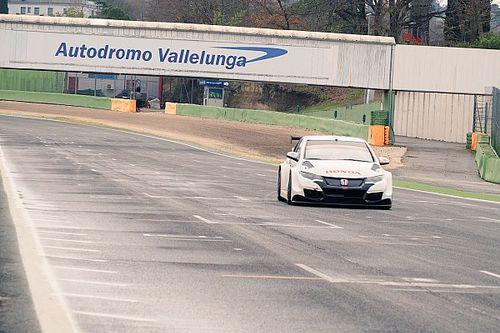 La Honda prosegue i test a Vallelunga