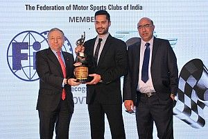 Gill named Motorsports Person of the Year in FMSCI award