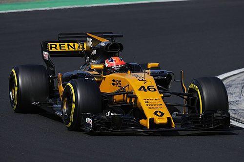 Photos - Robert Kubica au volant de la Renault R.S.17